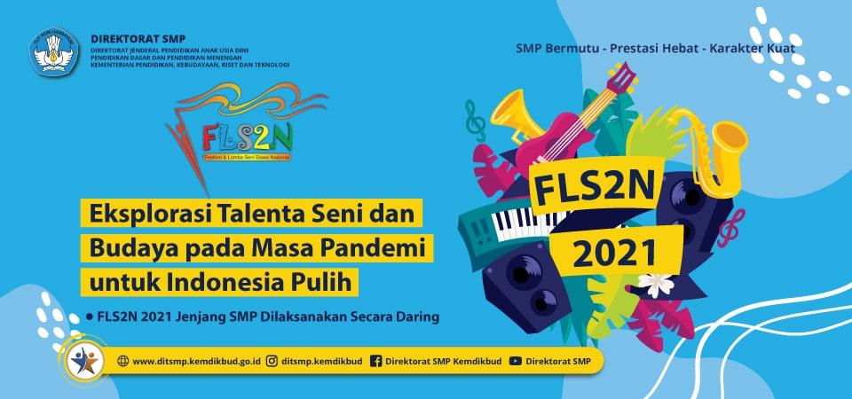 Pengumuman Pemenang FLS2N Tingkat SMP Kab. Sidoarjo Tahun 2021